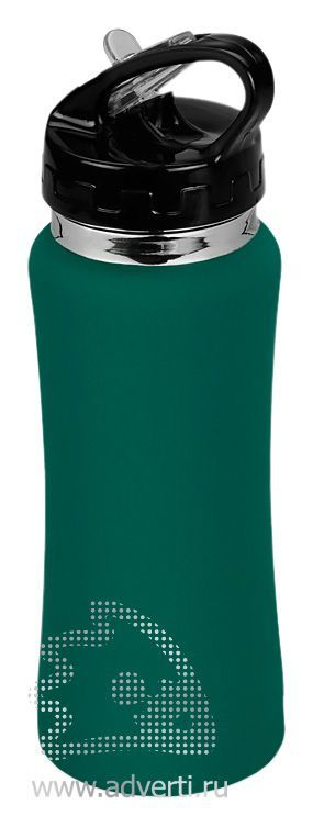 Спортивная бутылка «Коста-Рика», зеленая