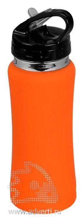 Спортивная бутылка «Коста-Рика», оранжевая