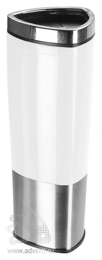 Стакан с термоизоляцией «Пиренеи», белый