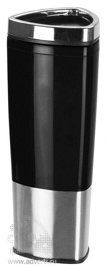 Стакан с термоизоляцией «Пиренеи», черный