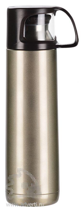 Термос «Андорра», бронзовый