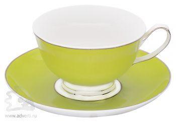 Чайная пара «Прованс», светло-зеленая