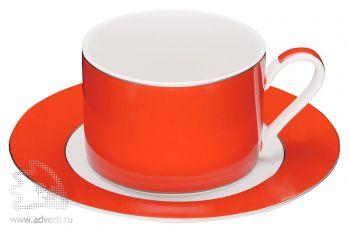 Чайная пара «Риом», красная