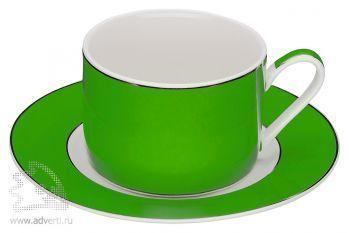 Чайная пара «Риом», зеленая
