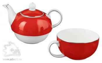Набор «Эгоист», чайник и чашка