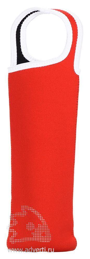 Чехол для бутылки «Сен-Назер», красный