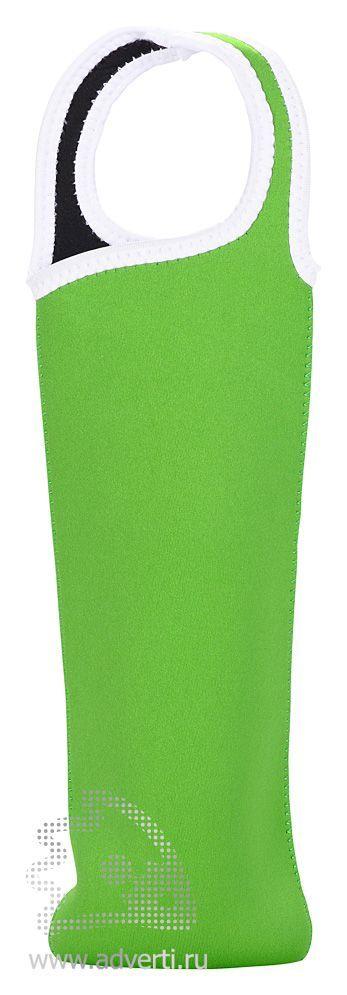 Чехол для бутылки «Сен-Назер», зеленый