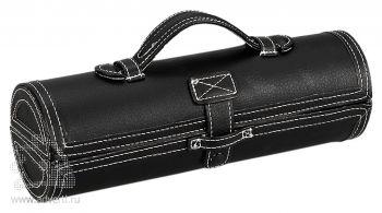 Подарочный набор «Сапфир» для чистки обуви, черный