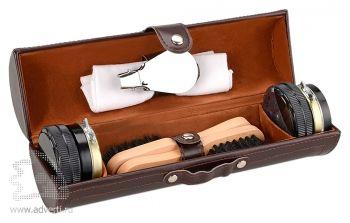 Подарочный набор «Сапфир» для чистки обуви