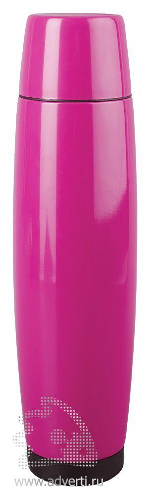 Термос «Нивера», розовый
