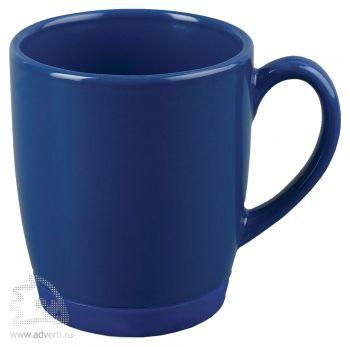 Кружка «Ирвинг» с силиконовой подставкой, синяя