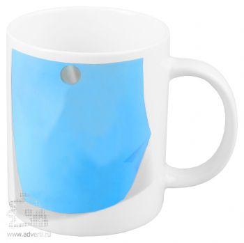 Кружка «Оставь заметку!», голубая