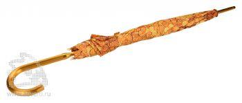 Зонт-трость «Деньги», в сложенном виде