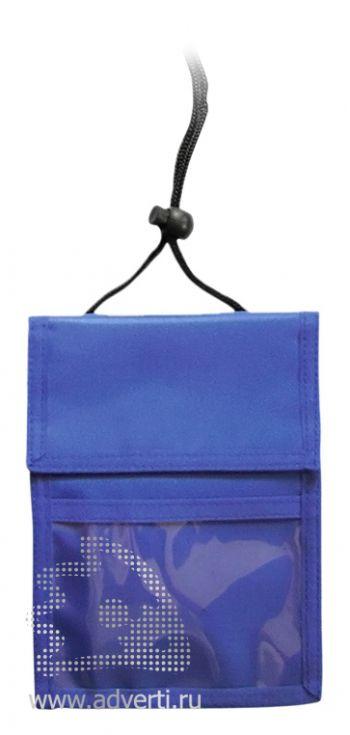 Нагрудное портмоне «Аквавива», синее