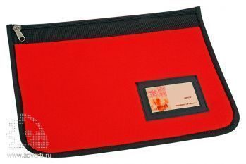 Папка для документов «Равенна», красная