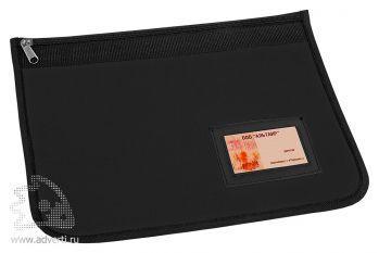Папка для документов «Равенна», черная