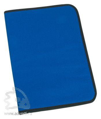 Папка для документов «Альба», синяя