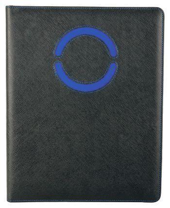 Папка для документов «Эдингбург», с синими элементами