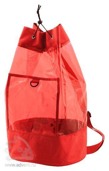 Пляжный рюкзак «Клайв», красный