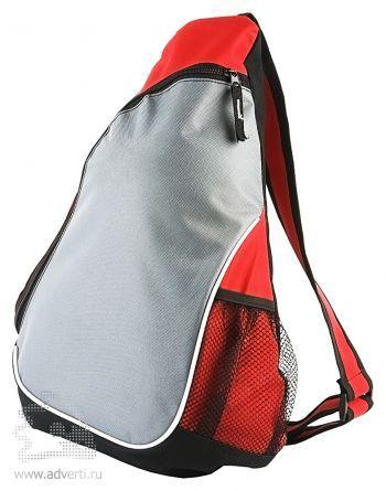 Треугольный рюкзак «Спортивный», красный