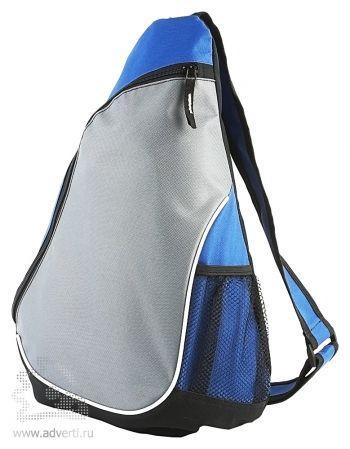 Треугольный рюкзак «Спортивный», синий