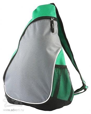 Треугольный рюкзак «Спортивный», зеленый