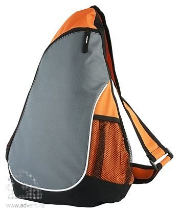 Треугольный рюкзак «Спортивный», оранжевый