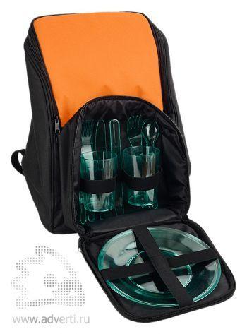 Рюкзак для пикника «Стенли» на 4 персоны, набор посуды