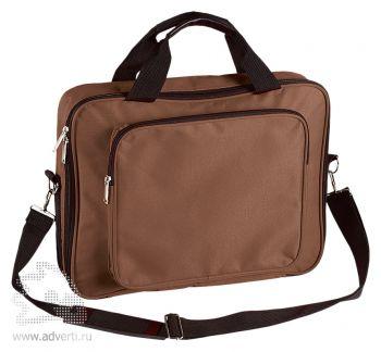 Сумка для ноутбука «Камберленд», коричневая