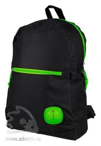 Рюкзак «Броуд-Пик», с зелеными элементами