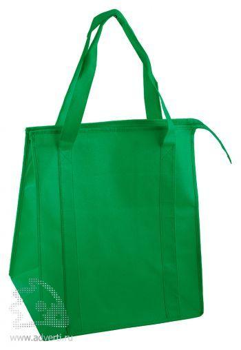Сумка для шопинга «Помощница», зеленая