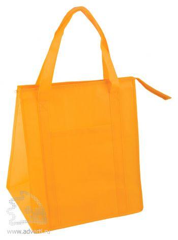 Сумка для шопинга «Помощница», оранжевая
