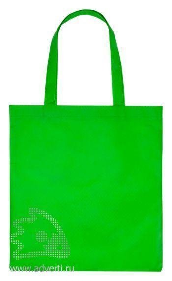 Сумка «Бигбэг», зеленая