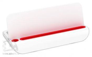 Подставка настольная «Docki», красная