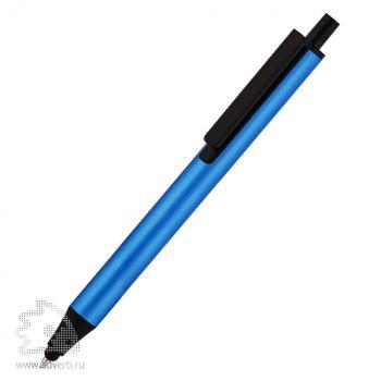 Ручка шариковая со стилусом «Flute Touch» Klio Eterna, синяя