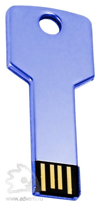 Флеш-память «Ключ», синяя