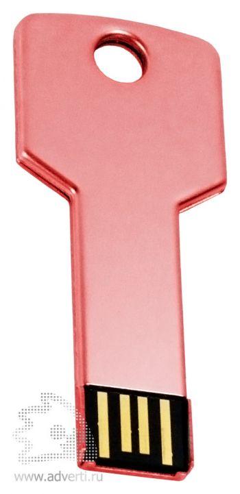 Флеш-память «Ключ», красная