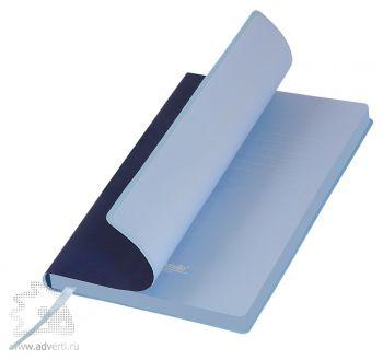 Ежедневник недатированный А5, Portobello Trend, Latte, 145х210 мм, синий с голубым
