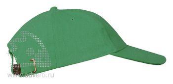 Бейсболка «Leader 200», зеленая