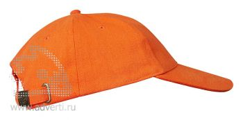 Бейсболка «Leader 200», оранжевая
