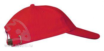 Бейсболка «Leader 200», красная