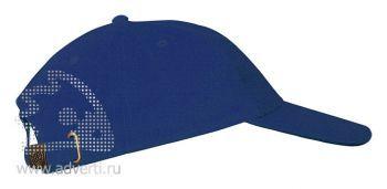 Бейсболка «Leader 200», синяя