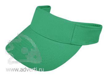 Козырек «Leader», зеленый