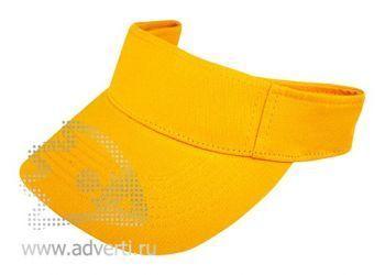 Козырек «Leader», желтый
