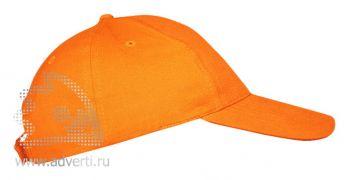 Бейсболка «Leader 70» 5 клиньев, оранжевая