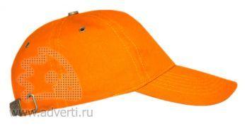 Бейсболка «Leader 100», оранжевая