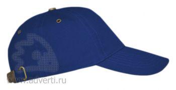 Бейсболка «Leader 100», синяя