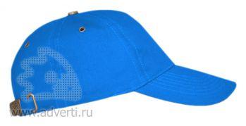 Бейсболка «Leader 100», голубая