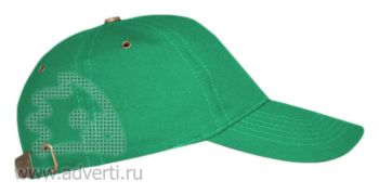 Бейсболка «Leader 100», зеленая