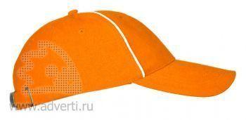 Бейсболки «Leader 206», оранжевая
